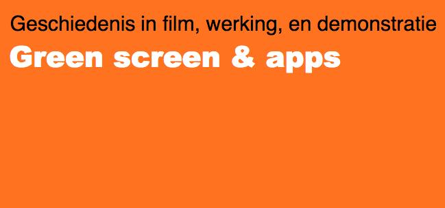 Greenscreen foto & film